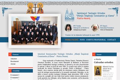 Seminarului Teologic Ortodox Sfintii Imparati Constantin si Elena - Piatra Neamt