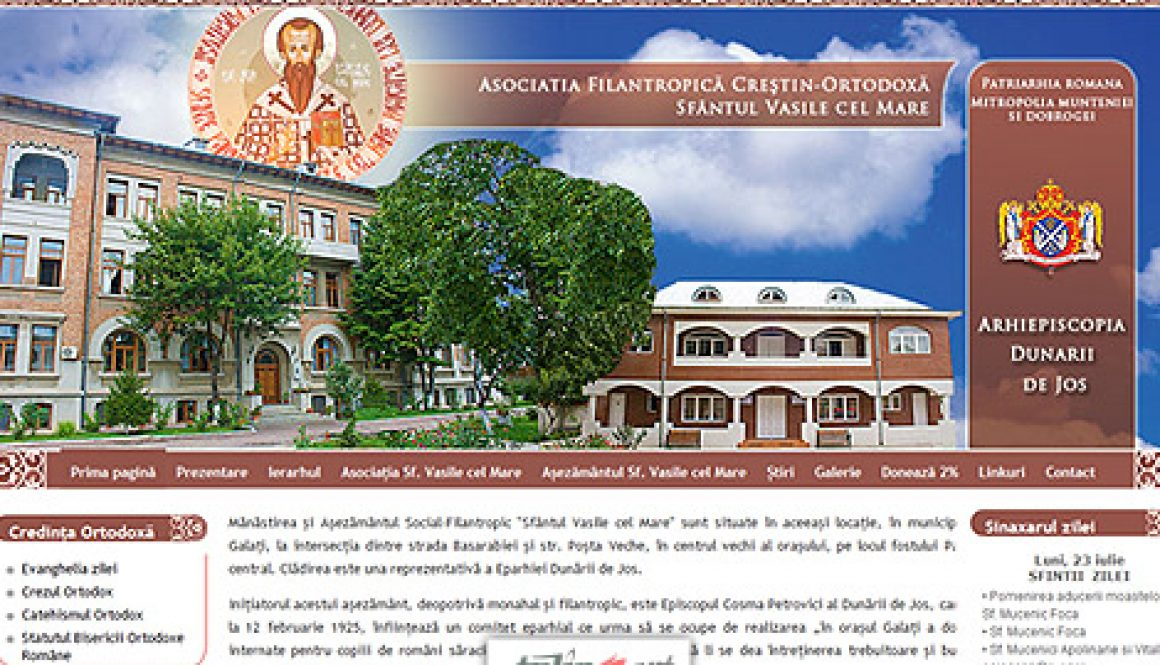 Asociatia Sfantul Vasile cel Mare Galati